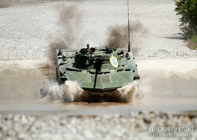 ДесантникиРФ лидируют вконкурсе «Десантный взвод» врамках АрМИ
