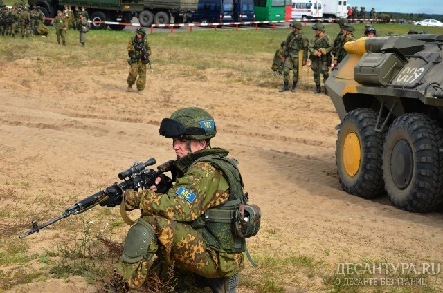 Учения ОДКБ «Нерушимое братство 2016» вРеспублике Беларусь перешли вактивную фазу